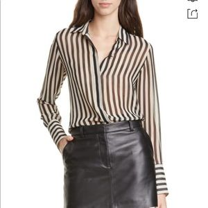 NILI LOTAN Lleida Silk Shirt, NWT!